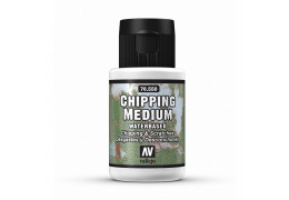 What is chipping medium?